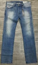 NWT Diesel Mens SAFADO-R RS034 Regular Slim-Straight Stretch Jeans 30 x 30