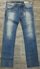 NWT Diesel Men's SAFADO-R RS034 Regular Slim-Straight Stretch Jeans 38 x 34