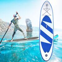 SUP Board Stand Up Paddle Surf-Board Aufblasbar Paddling 320cm Blaue Farbe
