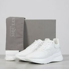 ALEXANDER MCQUEEN 790$ Oversized Runner Sneakers In Optic White