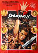 Affiche 120x160cm SPARTACUS 1960 Kubrick - Kirk Douglas, Laurence Olivier R NEUV