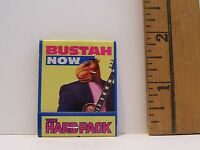 1992 JOE CAMEL BUSTAH THEN & NOW CIGARETTES MATCHBOOK WITH MATCHES