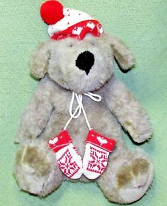 "15"" Vintage KRIS MUTT Plush Stuffed DAYTON HUDSON TARGET CHRISTMAS Puppy Lovie"