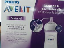 Philips Avent 3pk Natural Baby Bottle 11oz - Clear NIB
