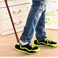 Professional Wooden Long Handle Shoe Horn Lifter Shoehorn High quality 55cm RS