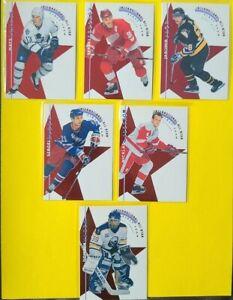 1995-96 Parkhurst International All-Stars COMPLETE SET OF 6
