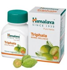 Himalaya Triphala Trifala Trifla Bowel Wellness 60 Tablets Herbal Product