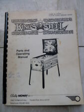 PINBALL KINGS OF STEEL MANUAL
