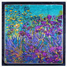 """STUPENDA, Van Gogh """"Gigli's silk look and feel Sciarpa. aggiunge un tocco di classe."""