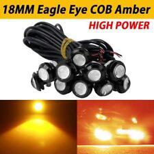 100pcs Amber Led 18mm Eagle Eye DRL Daytime Running Light Source Backup Bulb