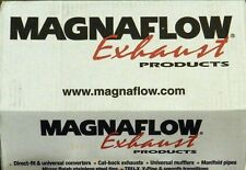 Magnaflow 14816 Street Series Polished Stainless Steel Oval Muffler with Tip