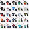 2019 Mens Team Cycling Short Sleeve Jersey And Bib Shorts Set Cycling Jerseys