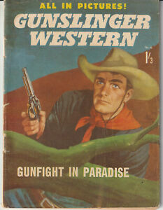 Australian Comic: Gunslinger Western #6 Regal Publications 1964