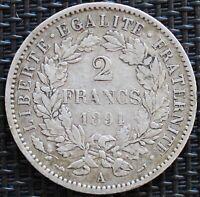 FRANCE 2 FRANCS CERES 1894 A