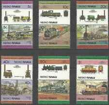 Timbres Trains Niutao Tuvalu 45/56 ** lot 24883