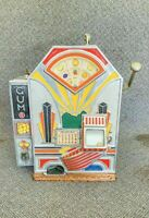 Original Jennings Little Duke Slot Machine One Cent Penny Gum Fully Functional