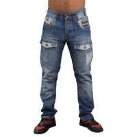 Mens Jeans Rawcraft New Cargo Combat Denim Pants Darhurst quality Jeans