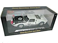 1966 Ford GT40 MK II Shelby Collectibles 1:18 Scale White Diecast Car NEW IN BOX