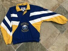 Vintage Buffalo Sabres Starter Windbreaker Hockey Jacket, Size Large