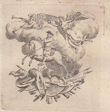 Bernard Picart (1673 – 1733) acquaforte decorazione