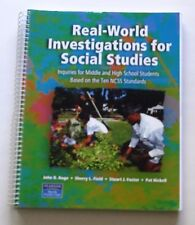 Real World Investigations for Social Studies : Inquiries for Middle and High...