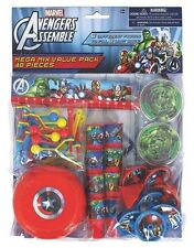 Marvels Avengers 48-Piece Birthday Party Mega Value Pack Favors Supplies Goody's