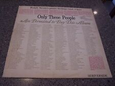 "Ralph Strain ""Only These People"" RIVERSIDE LP #847 LP"