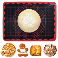 Trudeau Large Baking Prep Mat, Easy Measurement Guide, Nonstick Nonslip No Mess