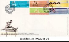 Great Britain - 2002 Xviith Commonwealth Games / Sports - 5V - Fdc
