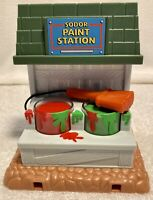 Sodor Paint Station Take N Play Along  - Thomas & Friends Track- Learning Curve