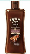 Huile Bronzante Hawaiian Tropic Peau Dorée Tropical Noix De Coco  SPF 0 Bronzage