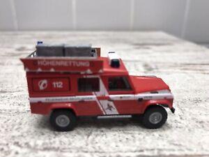 Busch Land Rover GW-Höhenrettung Feuerwehr Reutlingen