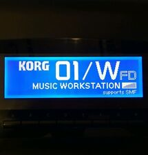 Korg 01/W - 01/WFD - 01/Wpro - 01/WproX - 01R/W LED Display !