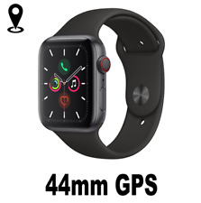 Watch Series 5 GPS 44mm Space Gray Aluminum - Black Sport Band for Apple
