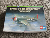 Tamiya Republic P-47D Thunderbolt Razorback 1:72 Scale Kit #60769