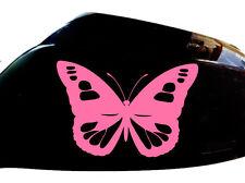 Mariposa Chica adhesivos para coches ala Espejo Estilo calcomanías (juego De 2), Rosa