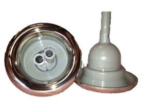 """SPA JET STAINLESS STEEL FACE 5"""" TWIN ROTO JET SIGNATURE HURRICANE"""