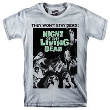 NIGHT OF THE LIVING DEAD T-shirt George A. Romero horror movie