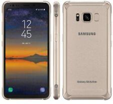 Samsung Galaxy S8 Active G892  64GB -Titanium gold  UNLOCKED Smartphone SHADED
