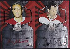 13-14 ITG Jean Beliveau Auto Lord Stanley's Mug 1968-69 Canadiens 2013
