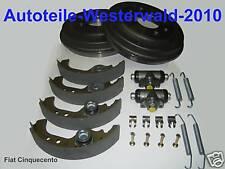 4001 607 Bremstrommeln+Bremsbacken+Radbremszylinder+Federnsatz Fiat Cinquecento
