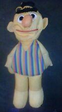 Playskool Water Pals Sesame Street Plush BERT Bath Toy 1990
