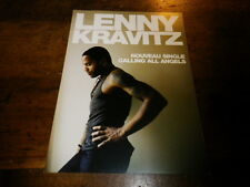 LENNY KRAVITZ - Plan média / Press kit !!! CALLING ALL ANGELS !!! 15X21 !!!