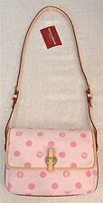 DOONEY & BOURKE • NWT  ($225.) Bubble Gum Pink  Shoulder Bag/XBody/Purse.