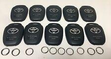 Lot of 10 original TOYOTA HYQ12BDM keyless entry remote back cover key ring OEM