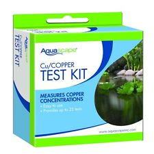 Aquascape 96020 Copper Test Kit- IonGen system-25 tests-measures Cu-pond water
