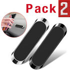 2-Pack Magnetic Phone Holder Car Dashboard Mount Stand For Samsung Galaxy iPhone