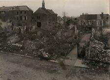Ville détruite à identifier France Première Guerre mondiale WW1