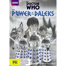 DOCTOR WHO:The Power Of The Daleks-Region 4-New AND Sealed