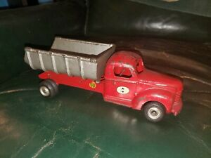 "Large Vintage Arcade Cast Iron Truck 11"""